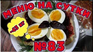 83 Правильное домашнее питание для похудения на день Как похудеть готовое меню 1500 ккал калорий
