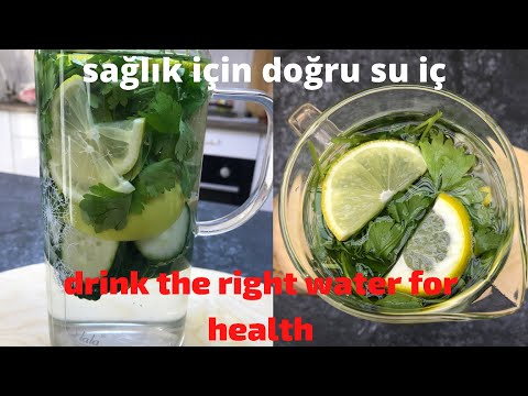 Get Rid Of Excess Fat And All Diseases, Just Drink The Right Water. Health With Water.