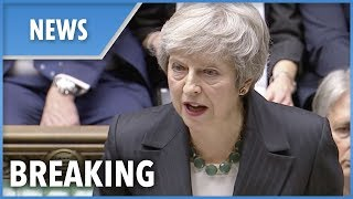Theresa May stands by her Brexit deal in House of Commons