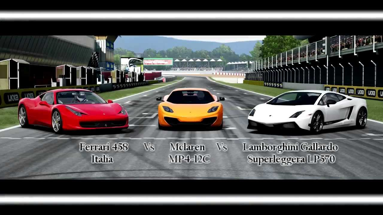 forza motorsport 4 battle s1 e5 ferrari vs mclaren vs. Black Bedroom Furniture Sets. Home Design Ideas