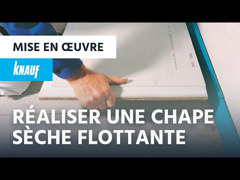 comment r aliser une chape s che flottante avec knauf brio youtube. Black Bedroom Furniture Sets. Home Design Ideas