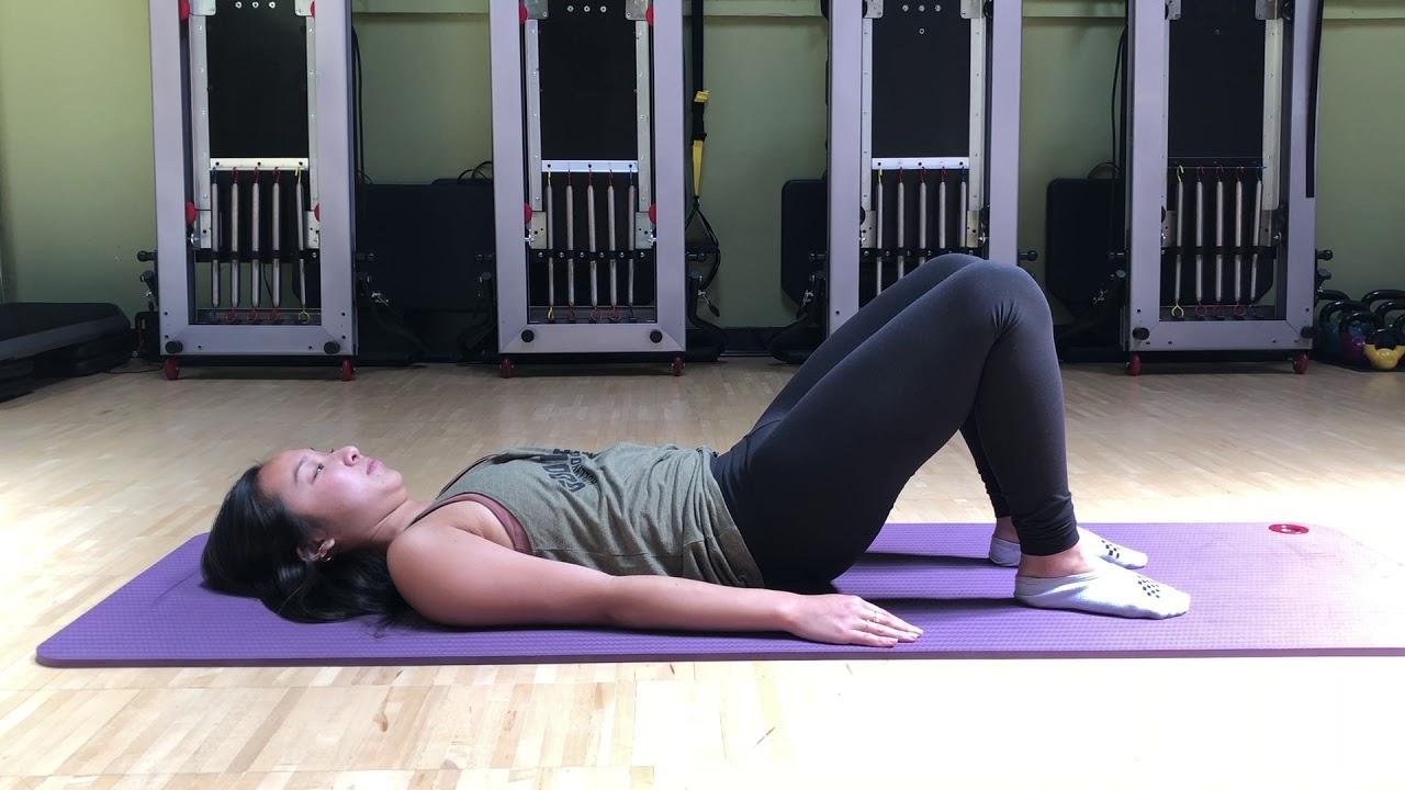 Pelvic Floor Stretches - YouTube