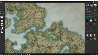 Map Making Podcast  Using Wonderdraft to plan,