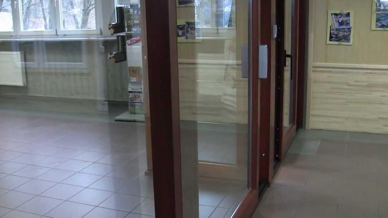 Automatycznie Otwierane Drzwi Podnoszono Przesuwne Thermo Hs Sokółka Okna I Drzwi