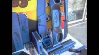 Полный тюнинг ваз 2107 Люкс синий
