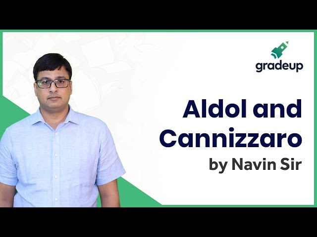 Aldehyde and Ketone: Aldol and Cannizzaro | Organic Chemistry | JEE Main Jan 2019