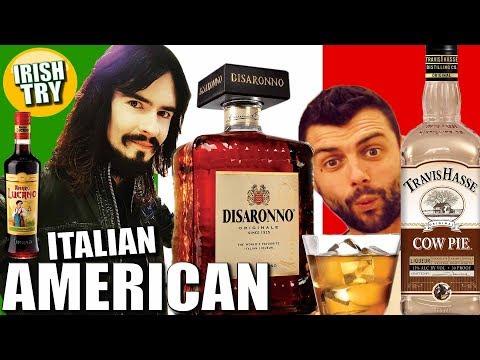 Irish People Taste Test ITALIAN AMERICAN LIQUEURS!!