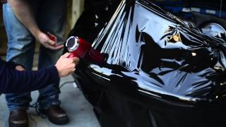 How to Vinyl Wrap an older car which has bad bodywork in HD