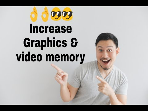 YES! You Increase Graphics And Dedicated Video Memoy | Windows-10 | Very Simply | M.i.Gaming77 |