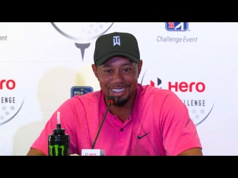 Tiger Woods discusses his comeback and expectations before Hero World Challenge