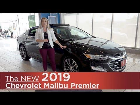 New 2019 Chevrolet Malibu Premier | Mpls, St Cloud, Monticello, Buffalo, Rogers, MN | Review | Walk