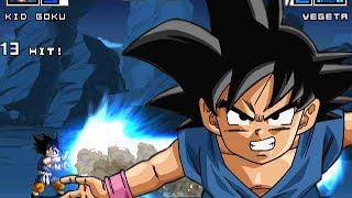Kid Goku GT 0.8 by EGC #Mugen #AndroidMugen