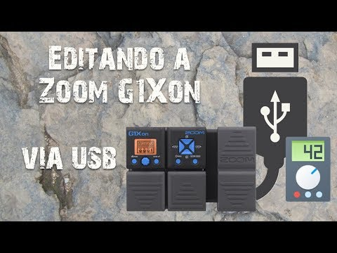 ToneLib - Editing Zoom G1Xon and other multi effects by USB