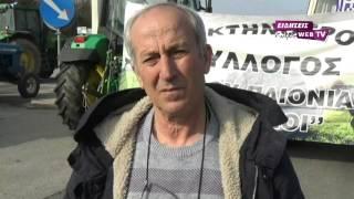 Οι αγρότες έκλεισαν στους Ευζώνους τα ελληνοσκοπιανά σύνορα-Eidisis.gr webTV