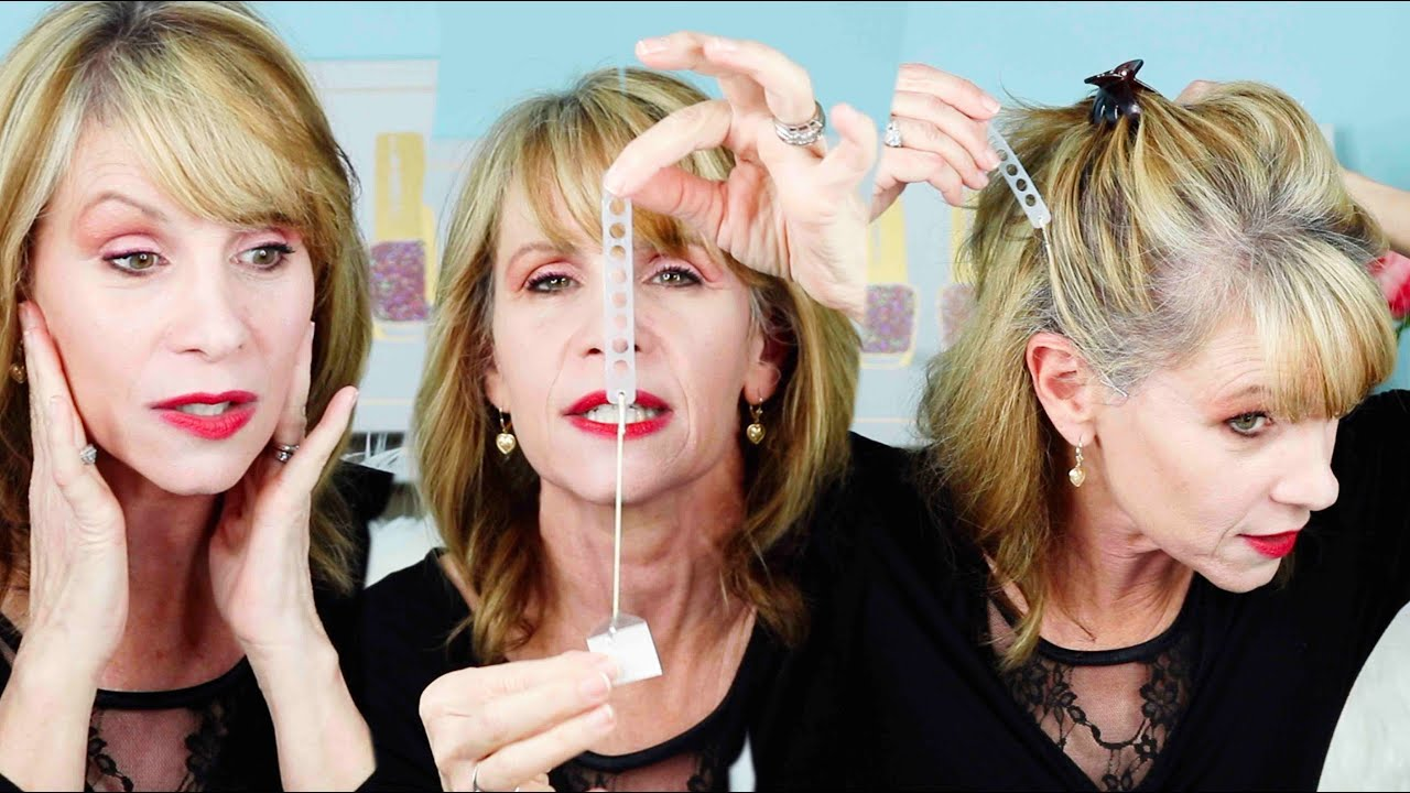 Trying Face Lifting Tape for Saggy Skin Without Plastic Surgery  Does it  Work for Older Women?