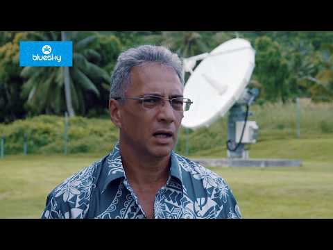 BlueSky launch 4G+ in The Cook Islands over O3b