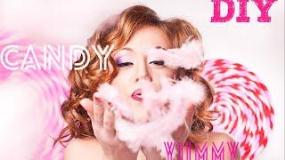 DIY: Большие леденцы на День рождения! (Candy girl)