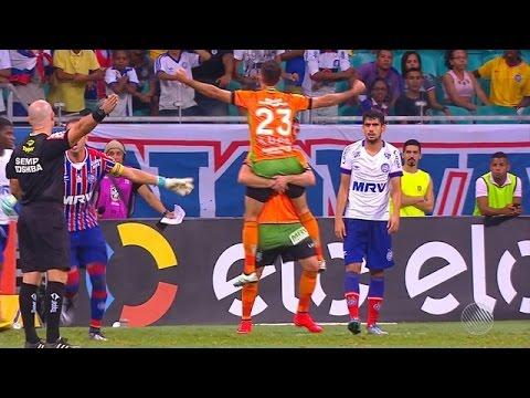 Bahia 0 x 1 América Mineiro Gol - Copa do Brasil 18/05/16