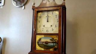 Pillar And Scroll - Eli And Samuel Terry - Gulf Coast Clock Co Pensacola