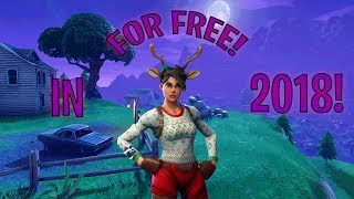 HOW TO GET THE RED NOSED RAIDER ON FORTNITE FOR FREE IN 2018!!