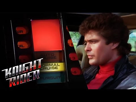 K.I.T.T. Speaks For The First Time | Knight Rider