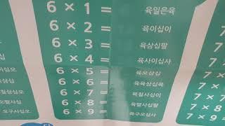 쏨쏨뉴스 구구단특집 6단