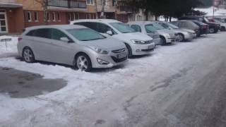 Hyundai i40 1.7 CRDI cold start 23