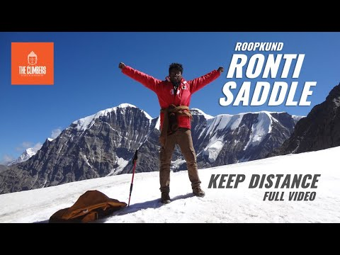 Roopkund-Ronti Saddle Avijan (A complete expedition and Nature Documentary)