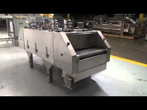 Used- Martin/Baron Cryogenic Tunnel Freezer, Model MBI-30-0006-01, Stainless Steel - stock #45202001