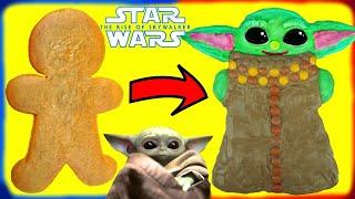 Star Wars Baby Yoda Gingerbread Man Cookie Decoration DIY