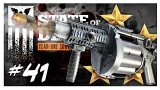 MILITARY BASE & GRENADE LAUNCHER | State of Decay Gameplay Part 41 - Year One Survival Walkthrough