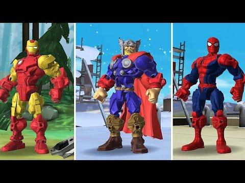 Marvel Super Hero Mashers Spider-Man Iron Man Mix + Smash  Disney