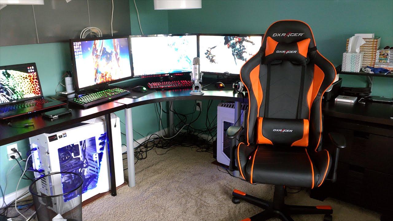 3d Wallpaper For Living Room Wall Epic Gaming Setup 4k Youtube