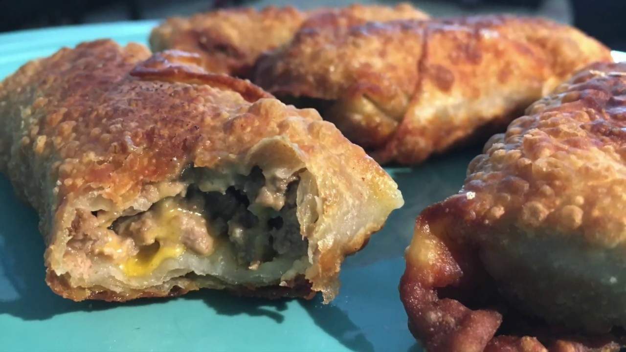 disney s cheeseburger eggrolls