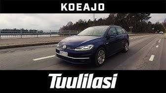 Koeajo: Volkswagen Golf Variant Comfortline 1.5 TSI EVO BlueMotion - Tuulilasi