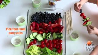 Easy Kids Dinner: Fruit Salad Skewers