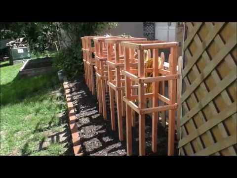 The Big Kahunas Wooden Tomato Cages