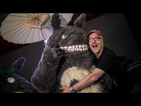 Adam Savage Repairs Totoro Cosplay!
