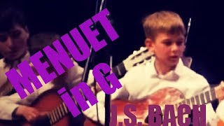 Baixar J.S Bach - Minuet in G  (Guitar and band cover)