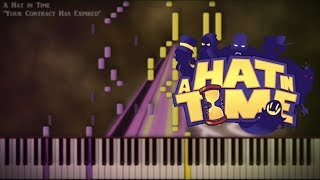 "[Piano Cover] A Hat in Time - ""Your Contract Has Expired"""