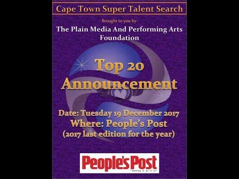 Cape Town Super Talent Search Top 20