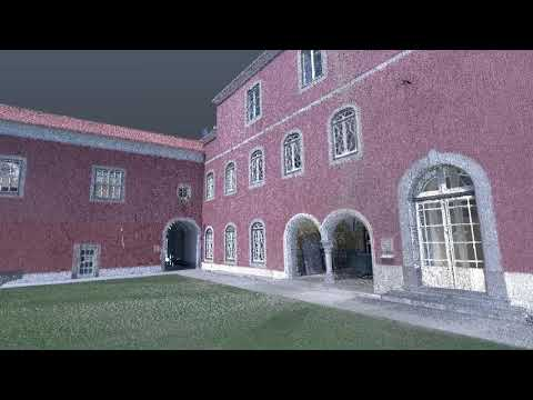 3D laser scan of the Nossa Senhora da Saúde @ Penha Longa Resort in Lisbon, Portugal