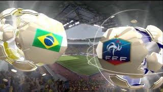 Brésil 3 - 0 France [FIFA 13] (: