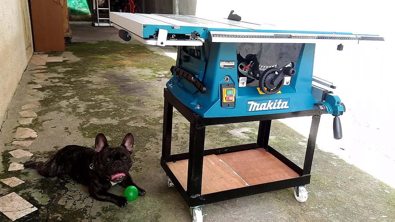 Makita Mlt100 Table Saw Unboxing Diy Steel Stand