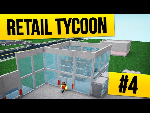Retail Tycoon #4 - APPLE STORE (Roblox Retail Tycoon)
