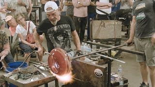Italian Glassblower Davide Salvadore