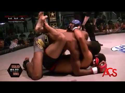ACSLIVE.TV Present's Exiled MMA Jose Johnson Vs Roger Carpenter