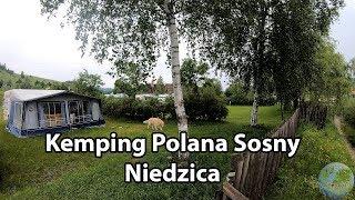 [1] Niedzica - Kemping Polana Sosny - nocowanie w przyczepie kempingowej [4K]