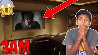 DO NOT WATCH THE IT MOVIE AT 3AM!! *OMG PENNYWISE CAME TO MY HOUSE*