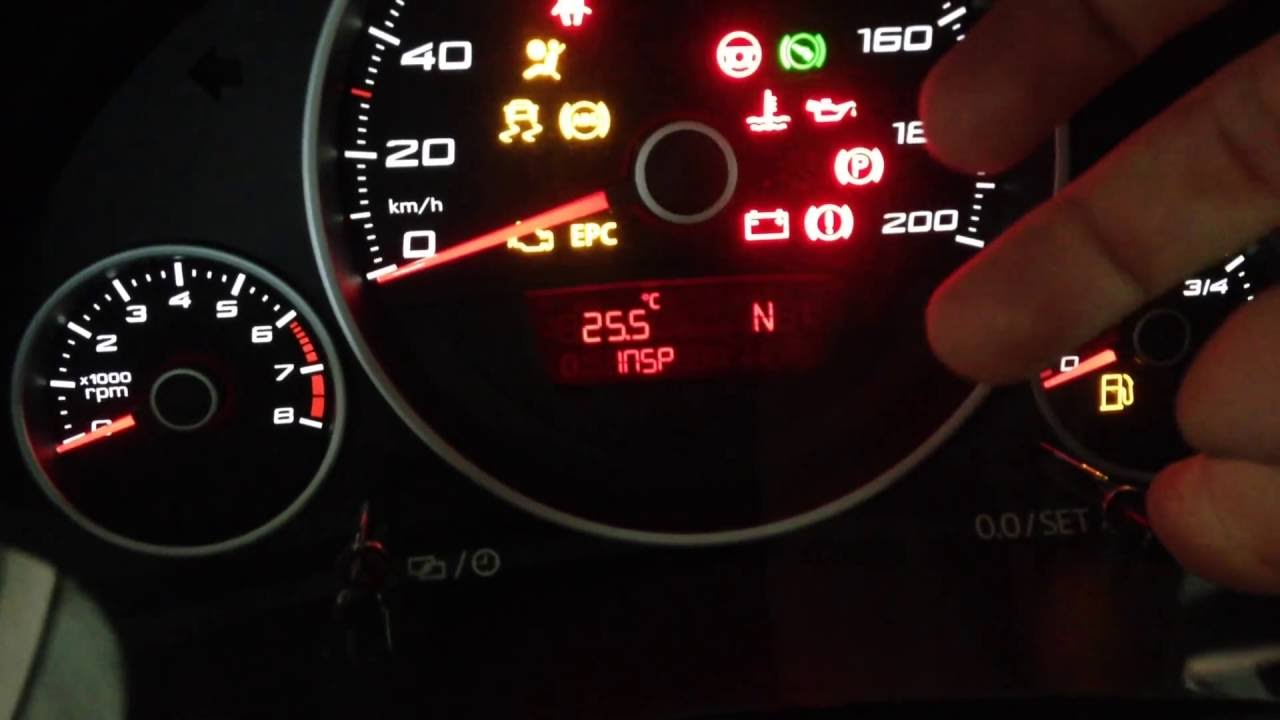 Volkswagen Up Reset Insp Oil Light Youtube